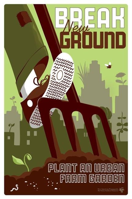 Victory garden poster 1