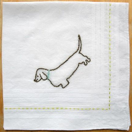 Stichado handkerchief