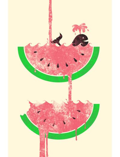Jonah block watermelon falls