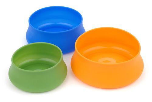 Squishy pet bowls