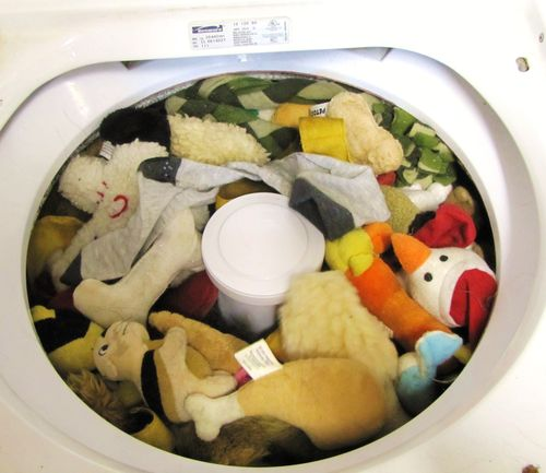 Toys in the Wash