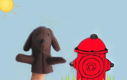 Sweetlittlebirdie dachshund puppet
