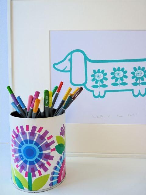 Jane Foster Sausage Dog Print 2