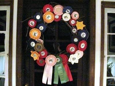 Junk salvation horse ribbons