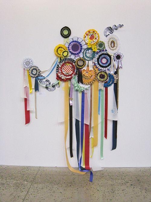 Hayley ribbon artwork