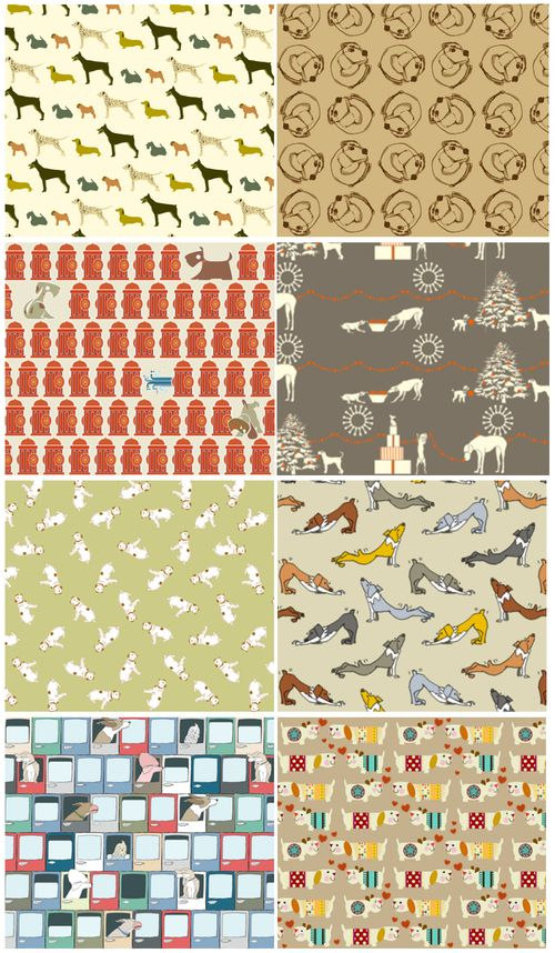 Spoonflower Dogs