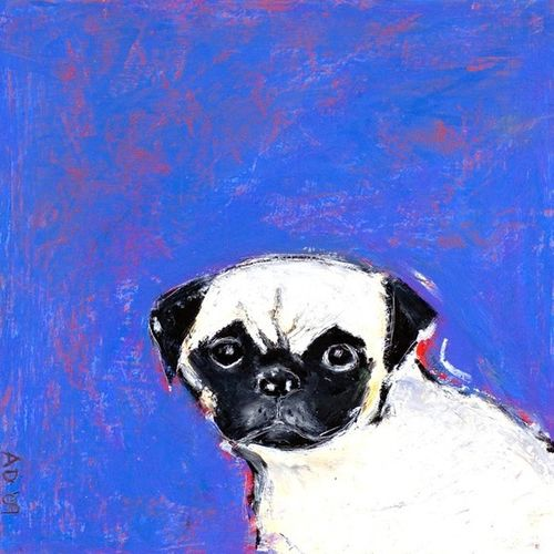 Dibble Dog Tootsie Print