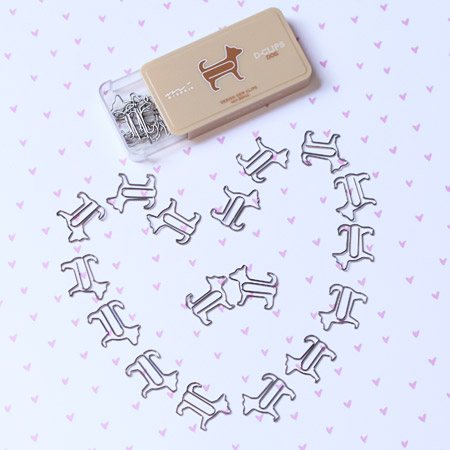 Woof times paper clips