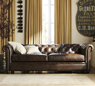 Chesterfield pottery barn